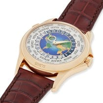 Patek Philippe World Time Yellow gold 39.5mm United States of America, Massachusetts, Chatham