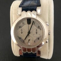 Harry Winston Platinum Automatic Silver Arabic numerals 35mm pre-owned Premier