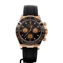 Rolex Daytona Or rose 40mm Noir