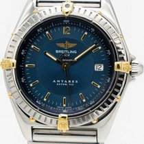 Breitling Antares Gold/Steel 39mm Blue