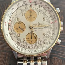 Breitling Old Navitimer Gold/Steel 41mm Champagne No numerals