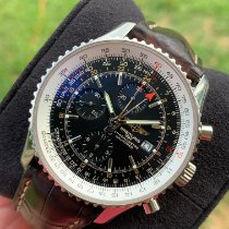 Breitling A24322 Steel Navitimer World 46mm pre-owned United States of America, Georgia, Roopville