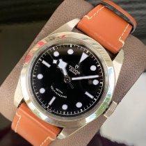 Tudor Black Bay 41 pre-owned 41mm Black Leather