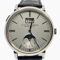 A. Lange & Söhne Saxonia White gold 40mm Silver