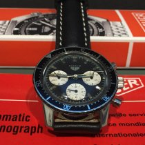 Heuer Steel 40mm Black No numerals United States of America, Washington, Woodinville