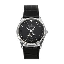 Jaeger-LeCoultre Master Ultra Thin Moon Steel 39mm Black No numerals United States of America, Pennsylvania, Bala Cynwyd