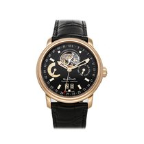 Blancpain Léman Tourbillon Rose gold 40mm Black No numerals United States of America, Pennsylvania, Bala Cynwyd