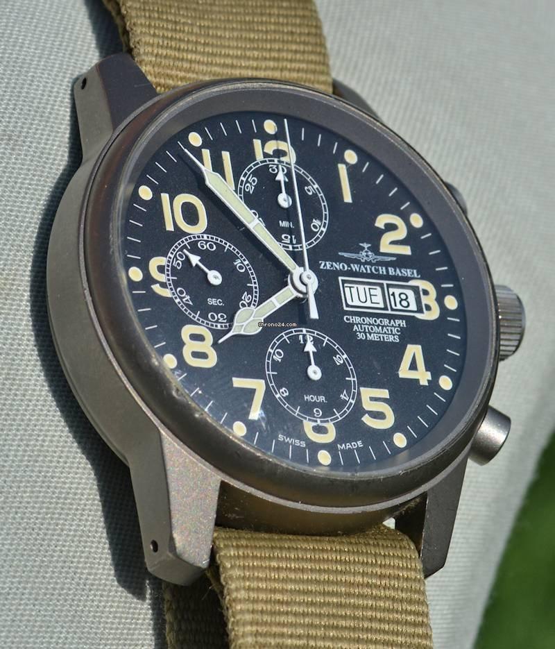 Zeno-Watch Basel подержанные
