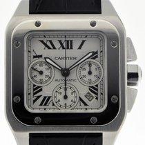 Cartier Santos 100 Stahl 41mm Silber Deutschland, Stuttgart
