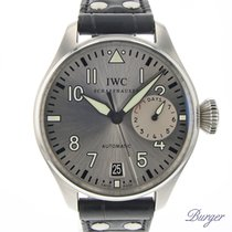 IWC Steel Automatic Silver Arabic numerals 46mm pre-owned Big Pilot