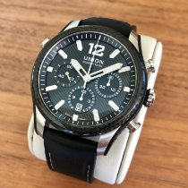 Union Glashütte Belisar Chronograph Steel 44mm Black No numerals