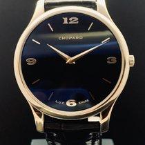 Chopard L.U.C Bílé zlato 39.5mm Černá