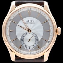 Oris Or rose 40mm Remontage manuel 01 396 7580 6051-SET occasion Belgique, Brussel