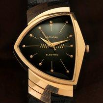 Hamilton Rose gold Quartz 0mm pre-owned Ventura