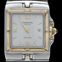Raymond Weil Parsifal Or/Acier 28mm Gris Romains