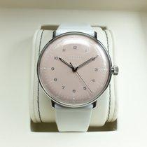 Junghans max bill Handaufzug neu 2017 Handaufzug Uhr mit Original-Box und Original-Papieren 027/3601.00