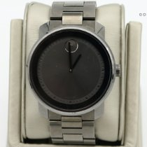 Movado Bold Steel 42mm Grey No numerals United States of America, Nevada, Las Vegas