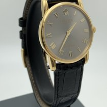 Rolex Cellini Yellow gold 32mm Grey Roman numerals