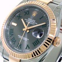 Rolex Datejust II Acero y oro 41mm Romanos