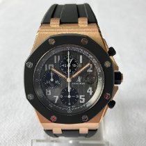 Audemars Piguet Royal Oak Offshore Chronograph Or rose 42mm Noir Arabes France, Saran
