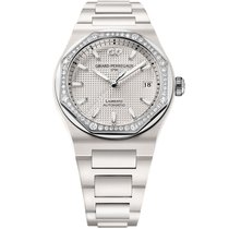 Girard Perregaux 81005D82A732-32A Ceramic 2020 Laureato 38mm new