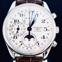 Longines Master Collection L2.673.4.78.3 Meget god Stål 40mm Automatisk