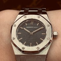 Audemars Piguet Royal Oak Lady Stahl Grau