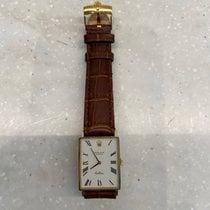 Rolex Cellini pre-owned 27mm White Leather