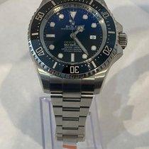 Rolex Sea-Dweller Deepsea Steel 44mm Blue No numerals United States of America, Florida, Miami beach