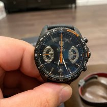 TAG Heuer Grand Carrera Steel 43mm Black United States of America, Texas, Aubrey