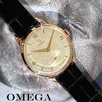Omega Красное золото Механические Cеребро Без цифр 37.5mm подержанные