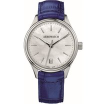 Aerowatch Les Grandes Classiques Steel 35mm Mother of pearl No numerals