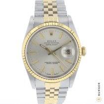 Rolex Datejust Gold/Steel 36mm Silver