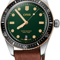 Oris Divers Sixty Five Steel 40mm Green United States of America, California, Moorpark
