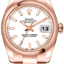 Rolex Lady-Datejust 179165-WHTSO new