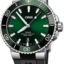 Oris Aquis Date Steel 43.5mm Green United States of America, California, Moorpark
