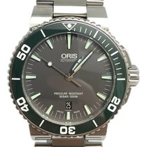 Oris Aquis Date Steel 43mm Grey No numerals United States of America, Florida, Naples