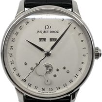 Jaquet-Droz Astrale Steel 43mm Silver Arabic numerals United States of America, Florida
