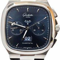 Glashütte Original Steel Automatic Blue No numerals 40mm Seventies Chronograph Panorama Date