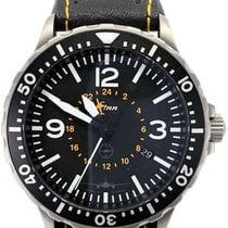 Sinn 856 / 857 Steel 43mm Black No numerals United States of America, Florida, Naples