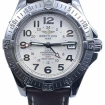 Breitling Colt GMT Steel 40mm White Arabic numerals United States of America, Florida, Naples