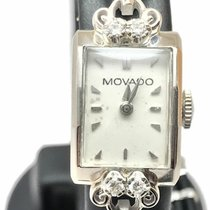 Movado Or blanc 12mm Remontage manuel occasion