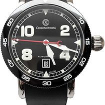Chronoswiss Timemaster Steel 44mm Black Arabic numerals United States of America, Florida, Naples