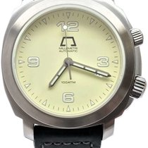 Anonimo Millemetri Steel 42mm Yellow Arabic numerals United States of America, Florida, Naples