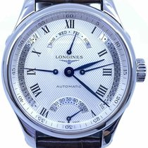 Longines Master Collection pre-owned 40mm Date Leather