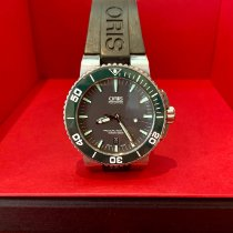Oris Aquis Date Steel 43mm Black No numerals United Kingdom, London