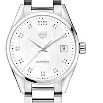 TAG Heuer Carrera Lady Acero 36mm Madreperla Sin cifras España, Spain