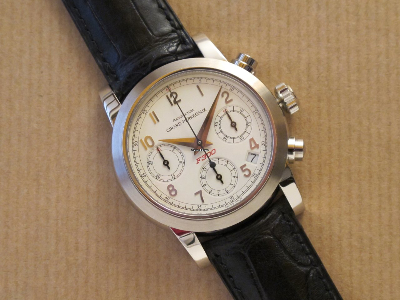 Girard Perregaux Automatic Chronograph Pour Ferrari Ref 8020 Für Chf 3 051 Kaufen Von Einem Privatverkäufer Auf Chrono24