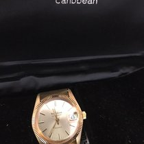 Philip Watch Yellow gold Automatic 25mm pre-owned Caribe