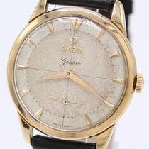 Omega Genève Very good Rose gold 37mm Manual winding